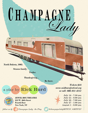 Champagne Lady Poster