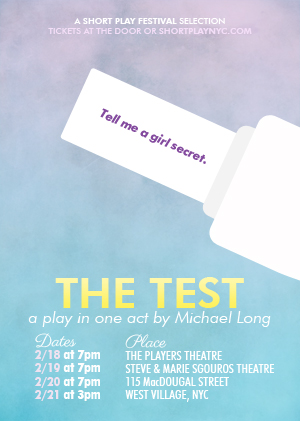 The Test Poster Performance Dates